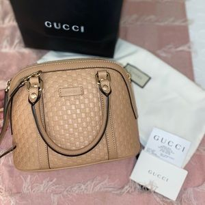 GUCCI microguccissima Mini Dome